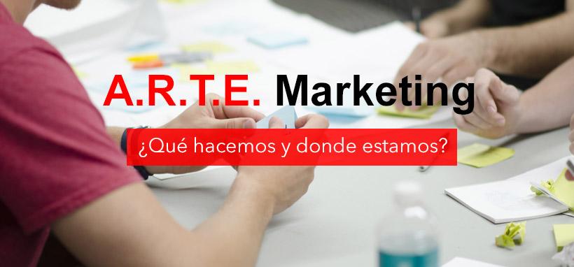 Funciones y ámbitos de Arte Marketing: ¿Qué hacemos y dónde?