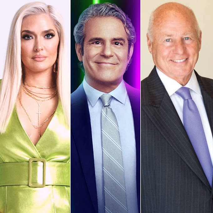 Andy Cohen Defends Erika Girardi After 'The Housewife And The Hustler' Documentary And Reveals How It Might Affect Her 'RHOBH' Future! Plus Andy Reacts To 'Deeply Disturbing' Tom Girardi Allegations!