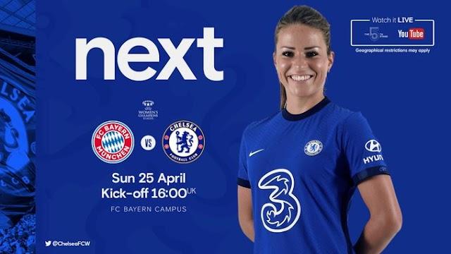 Chelsea Women e Bayern duelam por vaga na final da Champions League
