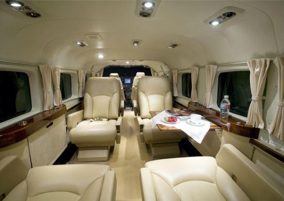 Cessna Caravan interior