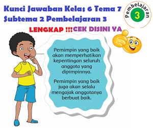 Kunci Jawaban Kelas 6 Tema 7 Subtema 2 Pembelajaran 3 www.simplenews.me