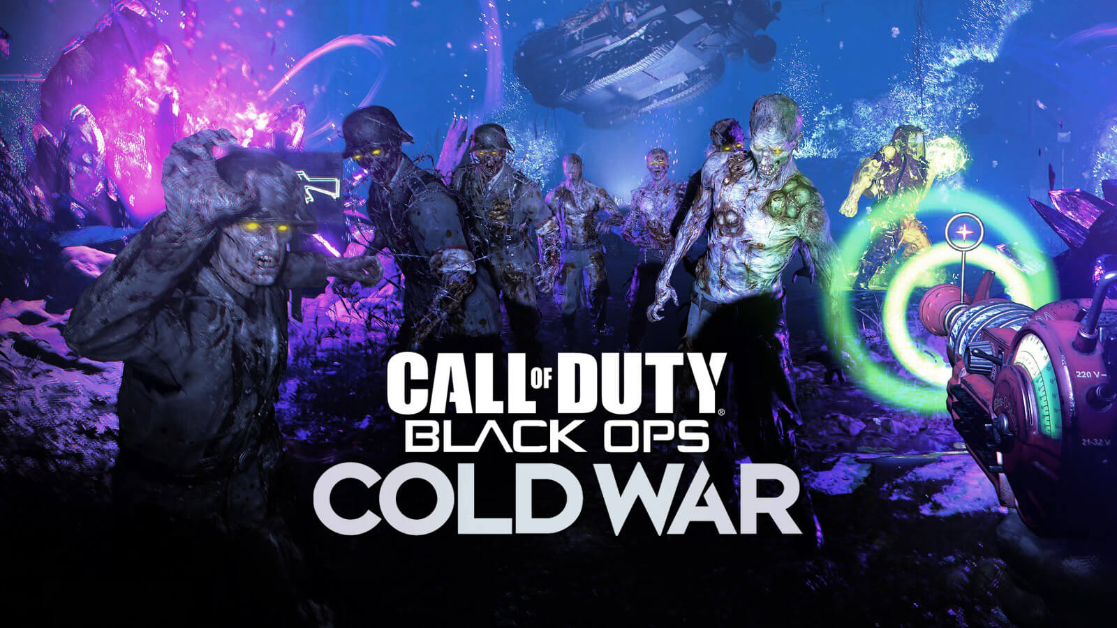 Call Of Duty Black Ops Cold War Zombies Mode Revealed