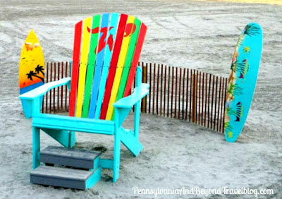 Wildwood Beach Chair and Surf Boards in Wildwood New Jersey