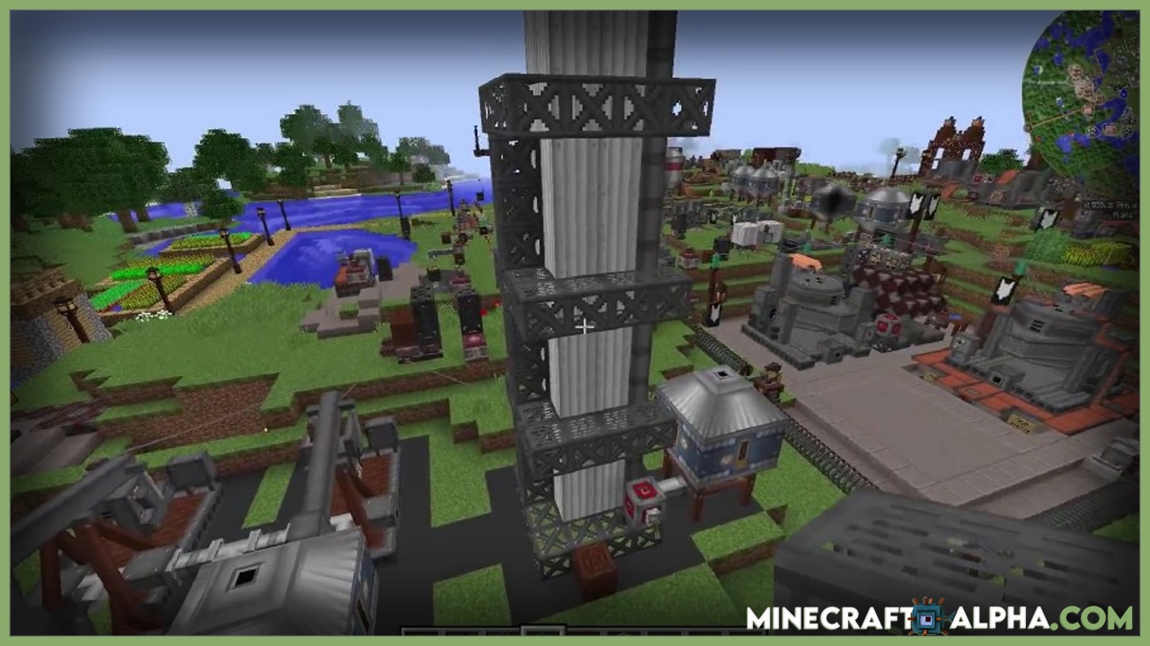 Minecraft Immersive Petroleum Mod 1.16.5 (Oil, Diesel)