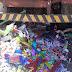 Muritiba: Caçamba de lixo desgovernada invade barraca de fogos deixando vitimas