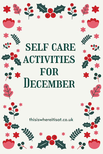 self care activities for December