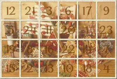 Calendario de adviento francés 2018