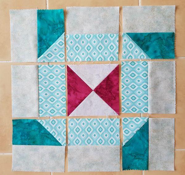 Connections Quilt Block tutorial | DevotedQuilter.blogspot.com