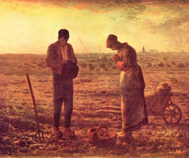 Жан Франсуа Милле - Ангел Господень. 1859