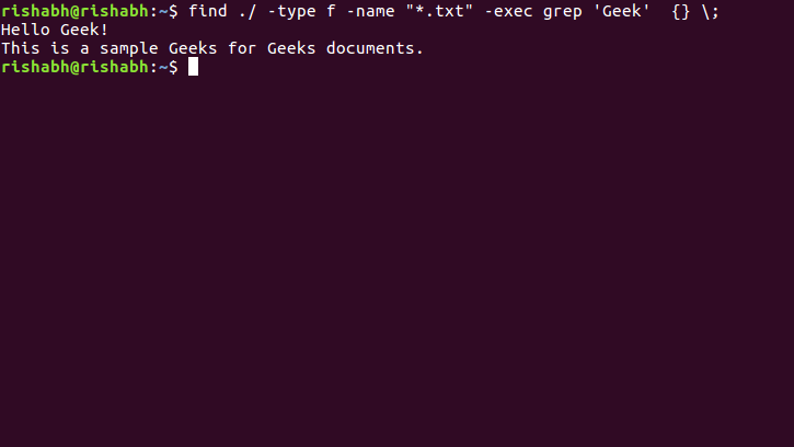 Find Command In Linux With Examples Lpi Central