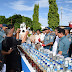 Sebanyak 1,5 Ton Miras Cap Tikus Dan 14 Botol Sabana Dimusnahkan Lantamal VIII