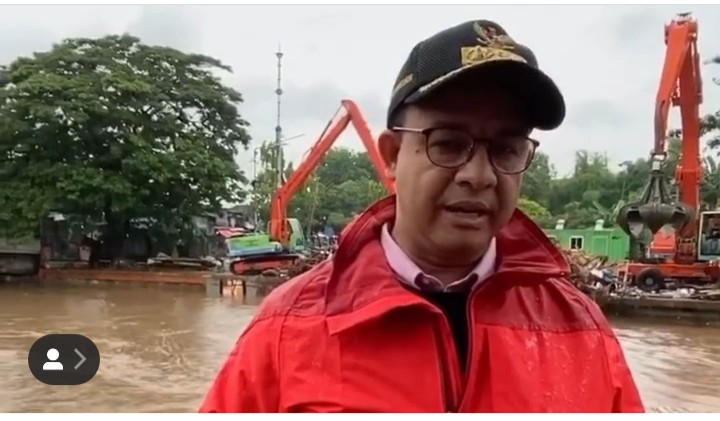 Balas Nyinyir Soal Banjir Jakarta 2020, Jawaban Anies Bikin Optimis