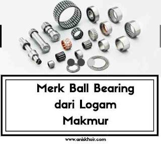 Ball bearing logam baru