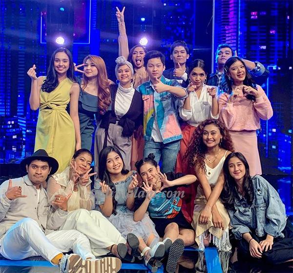 TOP 15 Indonesian Idol yang akan berjuang di panggung SPEKTAKULER SHOW