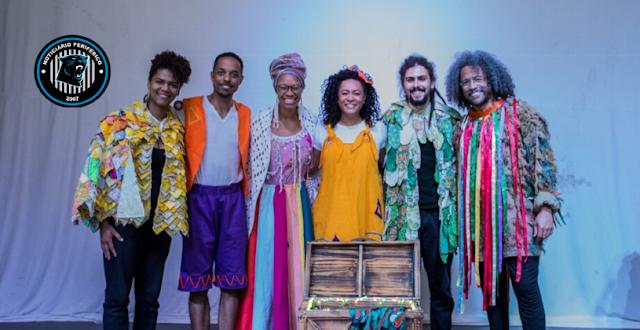 Espetáculo Infantil 'Arca de Ébano', da Cia. Colhendo Contos e Diáspora Negra, chega à casa de cultura de Santo Amaro