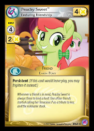 My Little Pony Peachy Sweet, Enduring Friendship Seaquestria and Beyond CCG Card