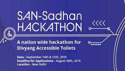 Government launches San-Sadhan Hackathon for Divyang accessible toilets