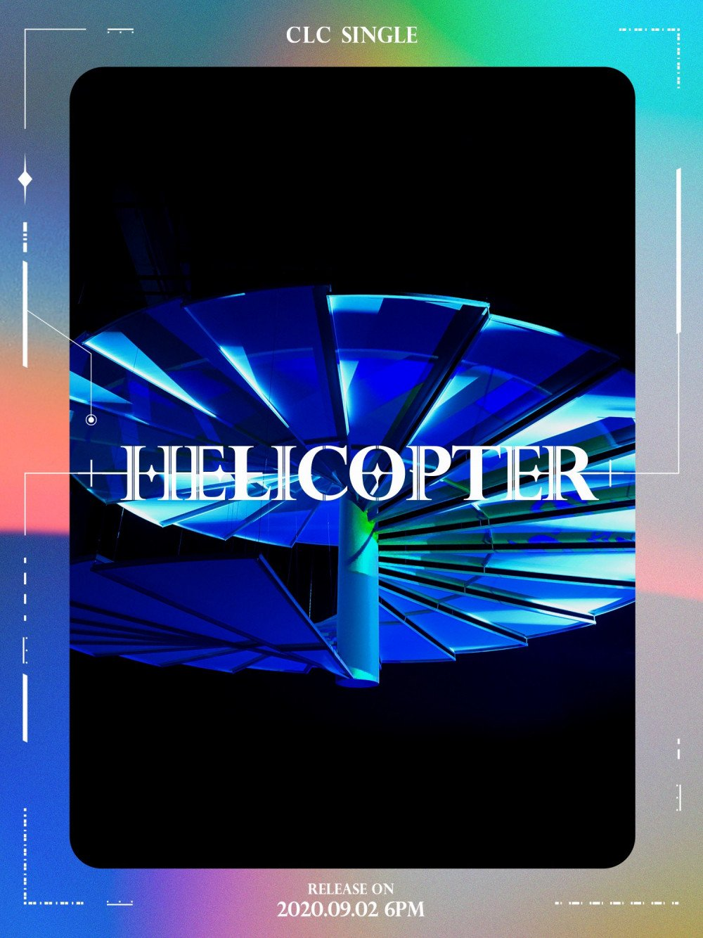 CLC Releases Futuristic Poster for New Single 'Helicopter'
