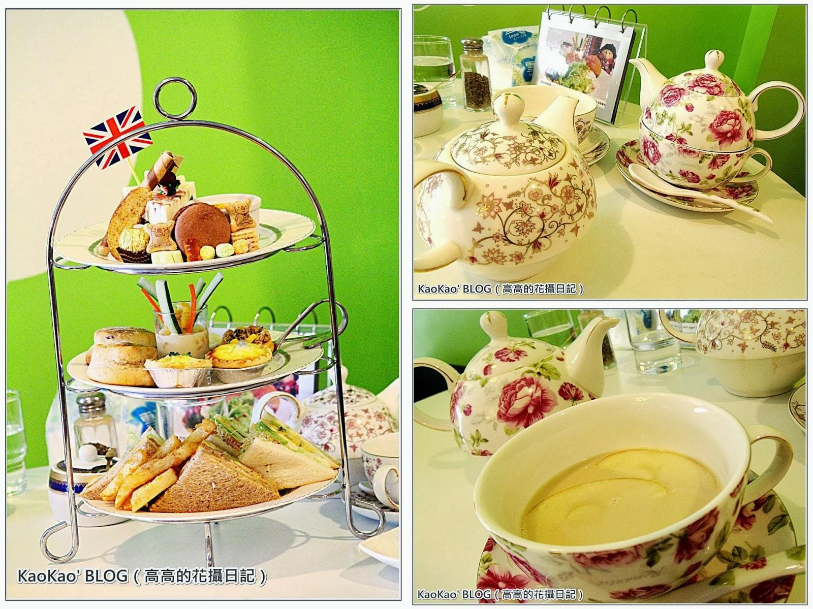 【臺南】棻園 Café No.2。維多利亞雙人下午茶 @高高的花攝日記 - nidBox親子盒子