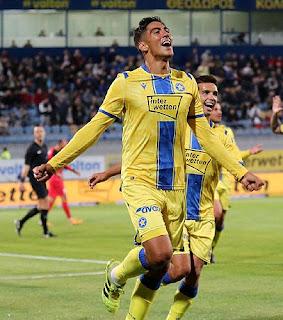 Fútbol Dani Suárez Grecia