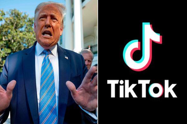 رسميا: TikTok ترفع دعوى قضائية ضد دونالد ترامب