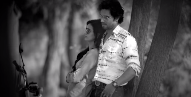 Randeep Hooda and Piaa Bajpai from the movie Laal Rang.