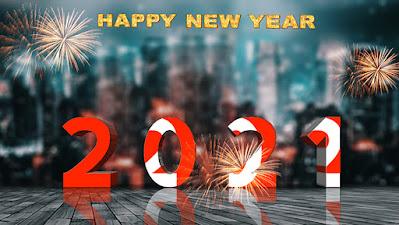 Happy New Year 2021 Wallpaper