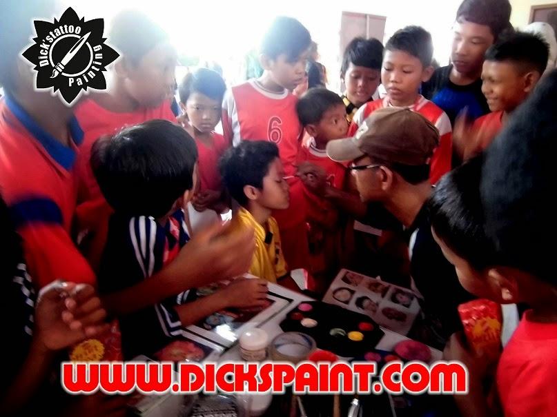 face painting jakarta football
