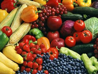 υδατάνθρακες φρούτα, λαχανικά