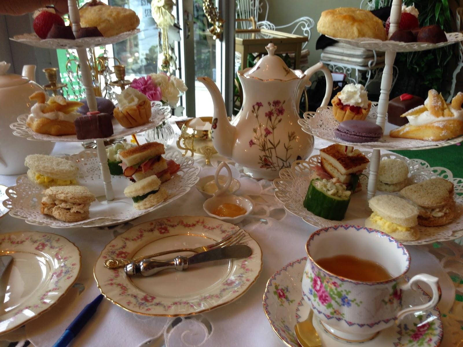 茶 Tea Dreams 梦 Afternoon Tea At The Golden Tea Garden
