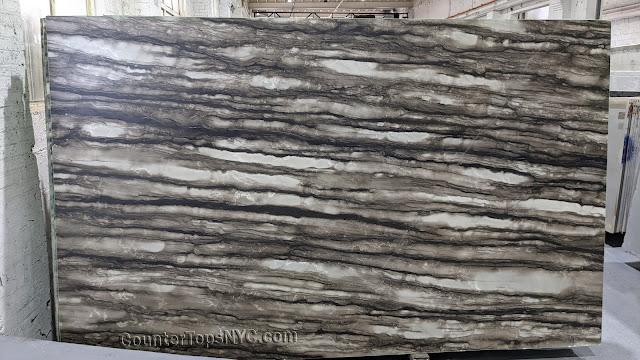 Sequoia Brown Quartzite Leathered Slab 3cm  NYC