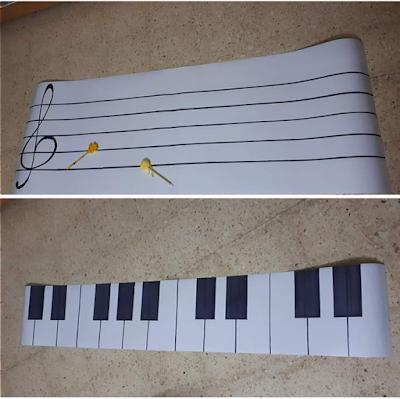 من الوسائل الجديدة للحصول على متعة اكثر بالحصة مدرج موسيقي متعدد الإستخدامات استطيع التدوين عليه بسهولة بما يناسب الدرس والمسح