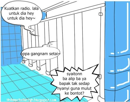 Ran Kentut Gua Bilik Air Asrama Main Dalam Mandi Desainrumahid