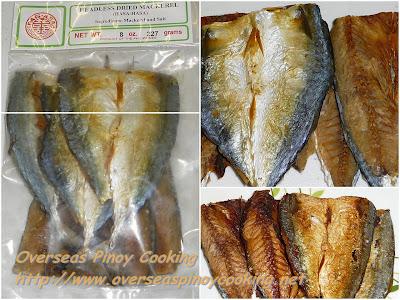 Sarciadong Daing - Cried Fish