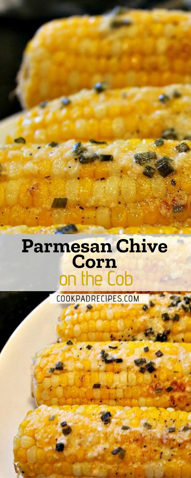 Parmesan Chіvе Corn оn the Cоb