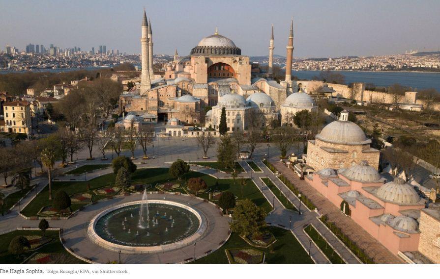 Hagia Sophia Jadi Masjid Gaduh, Masjid di Israel Jadi Bar... Senyap