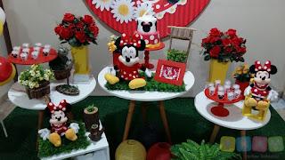 Decoração Minnie Vermelha Porto Alegre