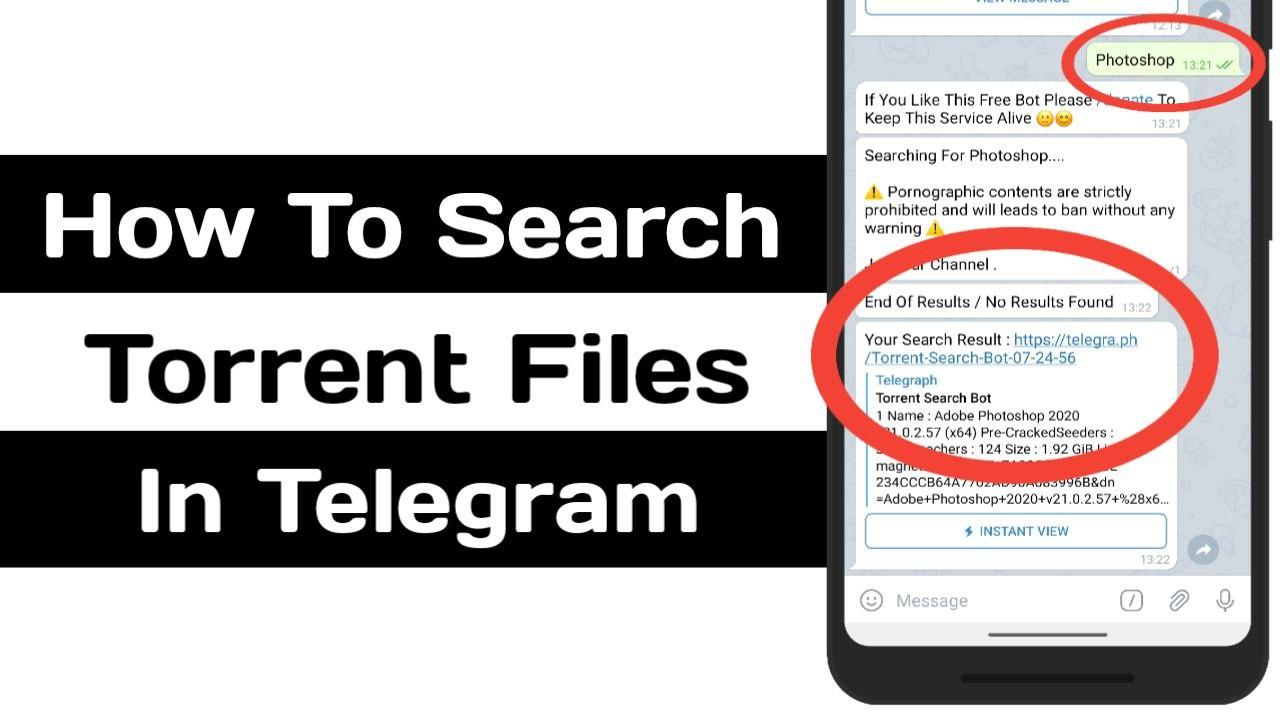 Torrent Search Bot