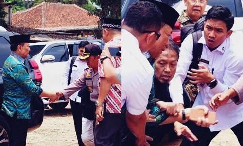 Beredar Detik-detik Wiranto ditusuk Kunai di Pandeglang Tanpa Sensor