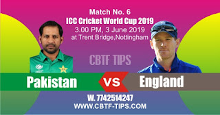World Cup 2019 Match Prediction Tips by Experts PAK vs ENG
