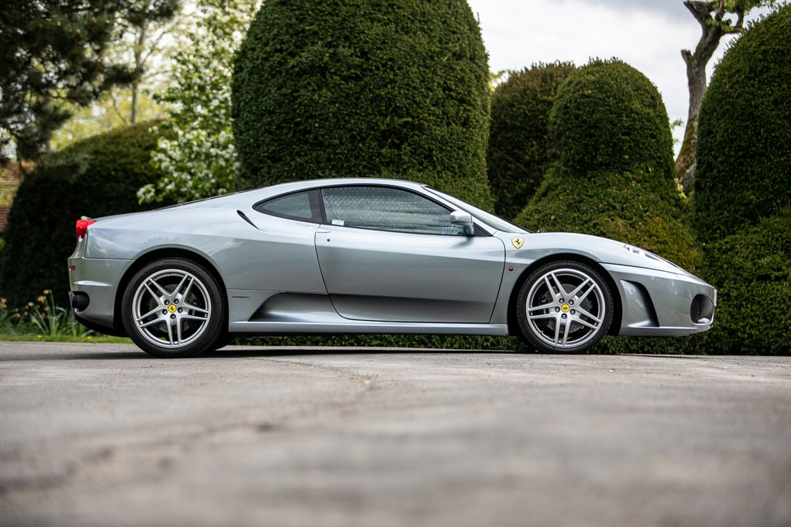 2005 Ferrari F430 With Manual Transmission Heads To Auction