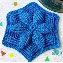 Motivos Vareta Relieve a Crochet
