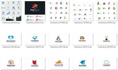تحميل 50 شعار إحترافي عينة من مكتبة الشعارات العملاقة - هارد المصمم العملاق