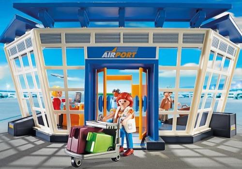 Playmobil vliegveld