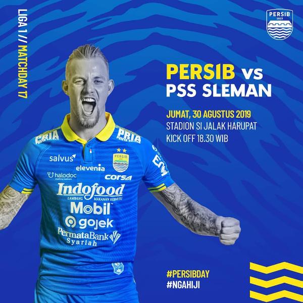 Persib Bandung vs PSS Sleman
