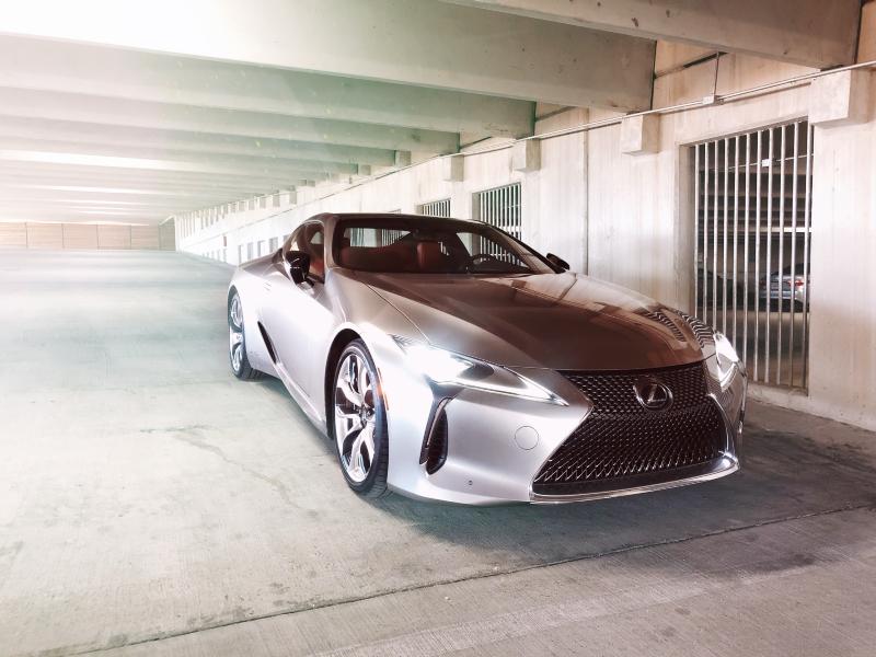 First Drive: Lexus LC500h