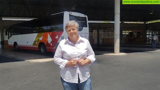 El Ayuntamiento recuerda al Gobierno de Canarias que la situación de la Estación de Guaguas de Los Llanos es insostenible