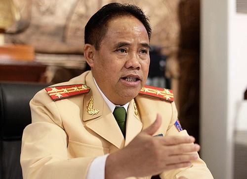 Đại tá Đào Vịnh Thắng, trưởng Phòng CSGT đường bộ - đường sắt Công an Hà Nội