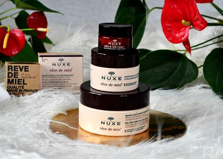 25-lecie Reve de Miel Nuxe - nowości wzbogacające linię recenzja
