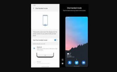 Cara Menggunakan One-Hand Mode Satu Tangan Di Android 12